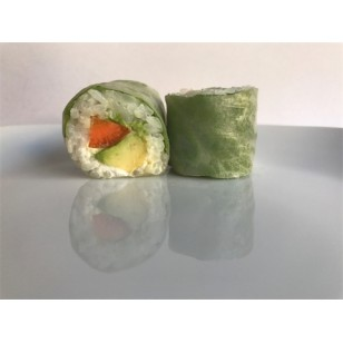 Spring Rolls patate douce, avocat et cheese